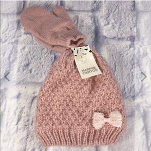 Harper Canyon Toddler Beanie Hat & Gloves